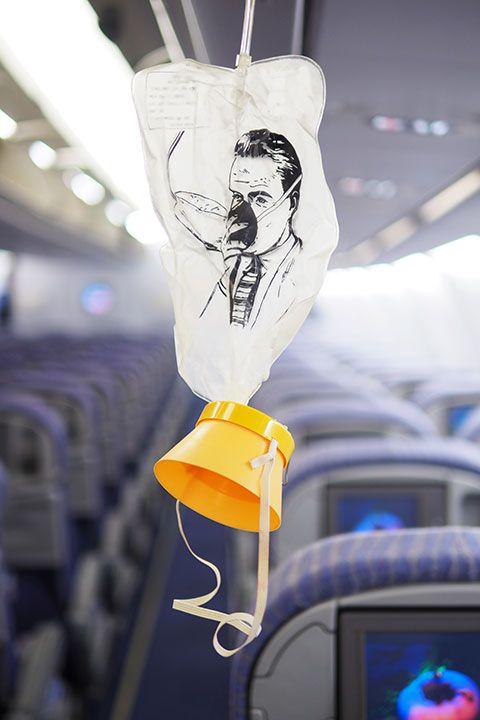 oxygen masks plane