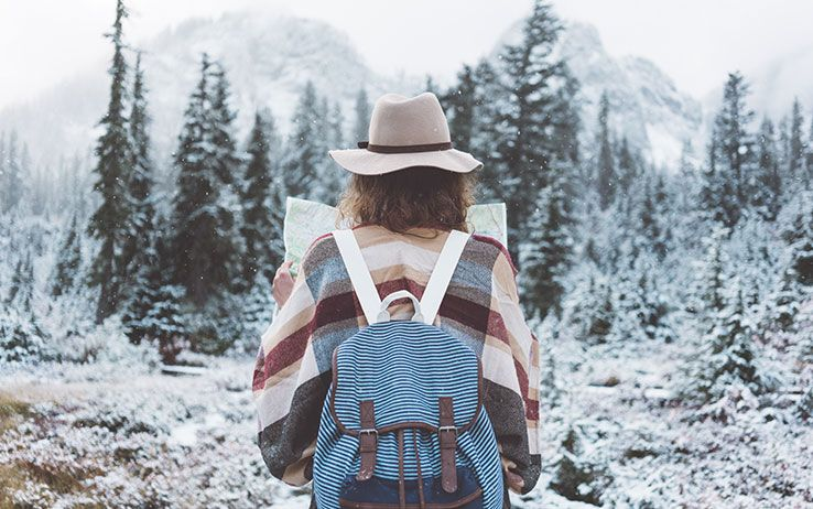 girl carry-on bag for cold weather travel