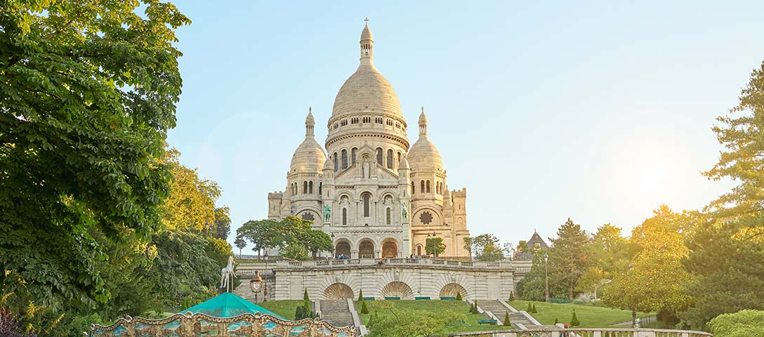 Sacre-Coeur - a Brief Story of an Extensive History